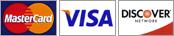 MasterCard, Visa, Discover